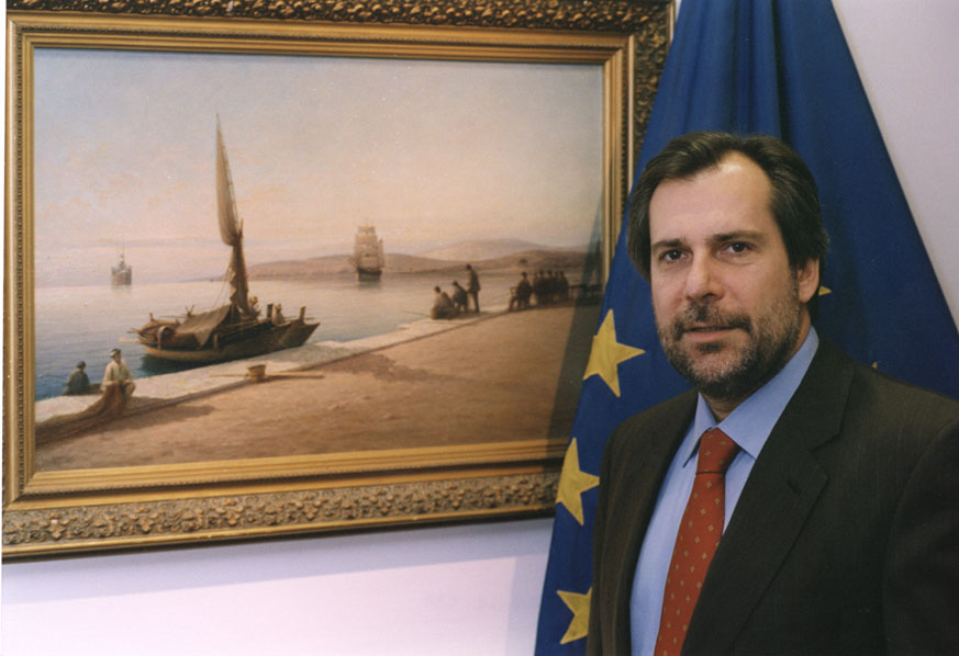 Christos Papoutsis, Member of the EC
