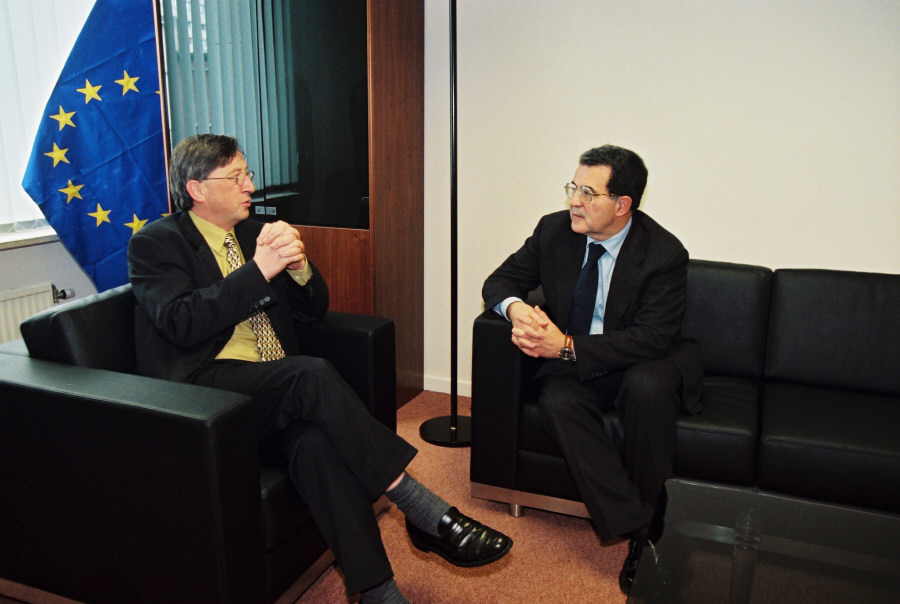 Visit of Jean-Claude Juncker, Prime Minister of Luxembourg, to the EC