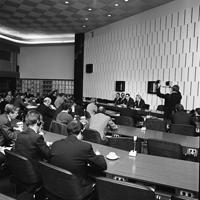 Visit by Klaus Schütz, Mayor of Berlin, to the CEC