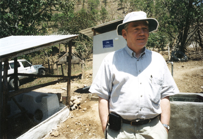 Visit by Poul Nielson, Member of the EC, to Central America