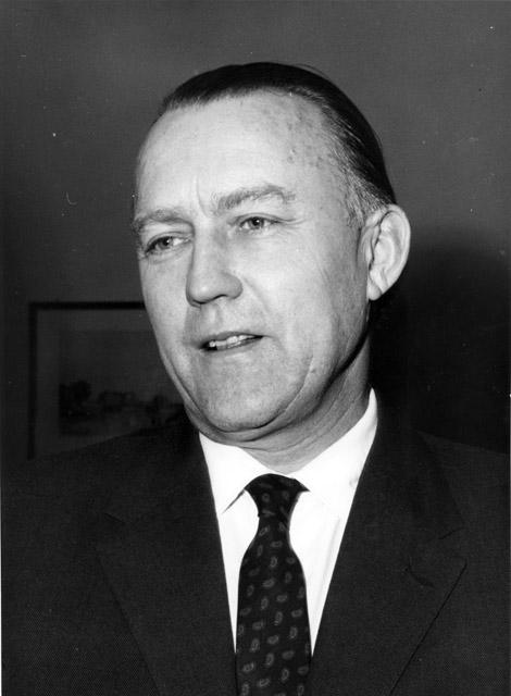 Hans von der Groeben, membre de la Commission de la CEE