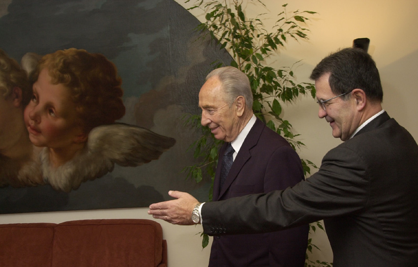 Visit of Shimon Peres, Minister for Foreign Affairs of Israel, to the EC