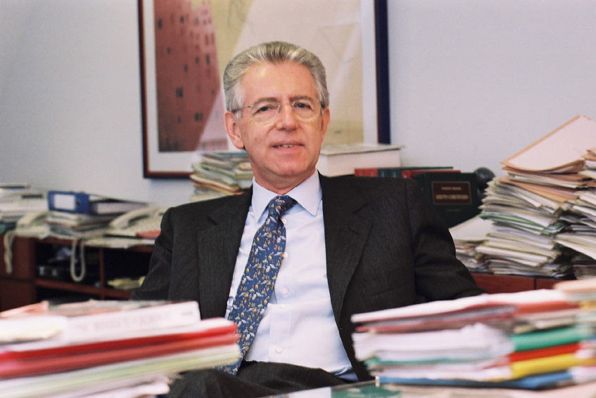 Mario Monti, Member of the EC