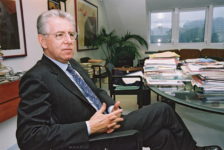Mario Monti, Member of the EC