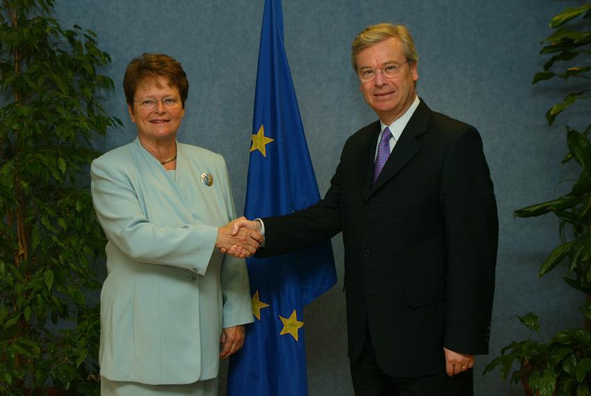 Gro Harlem Brundtland at the EC