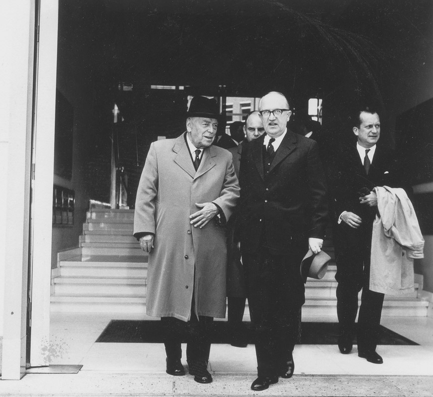Visit of Walter Nash, Prime Minister of New Zealand, to the Commission of the EEC