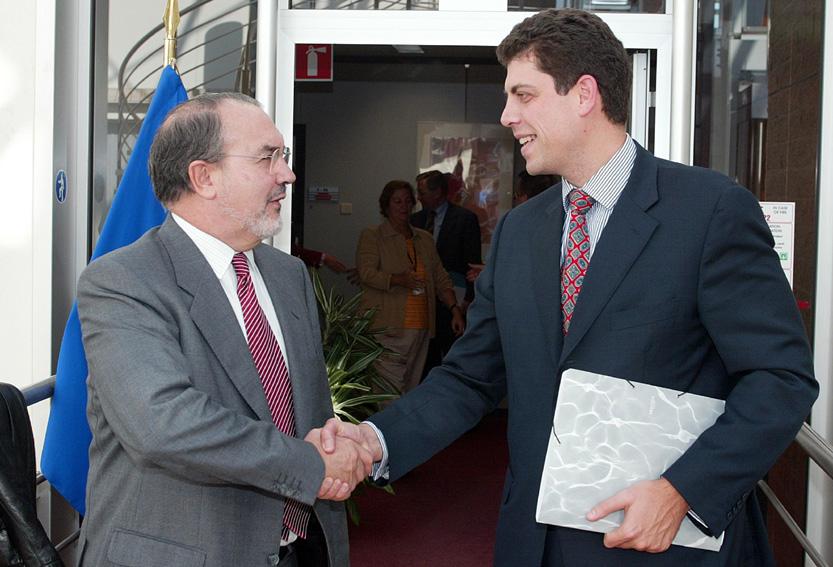 Visite de Milen Veltchev, ministre bulgare des Finances, à la CE