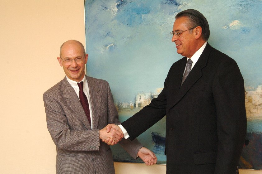 Visit of Allan Wagner Tizón, Secretary General of the Andean Community, at the EC