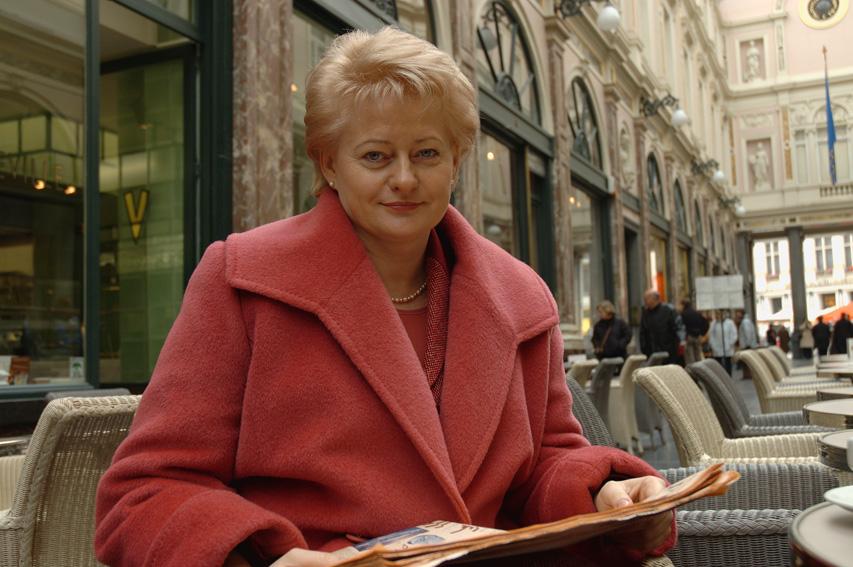 Dalia Grybauskaitė, Member of the EC