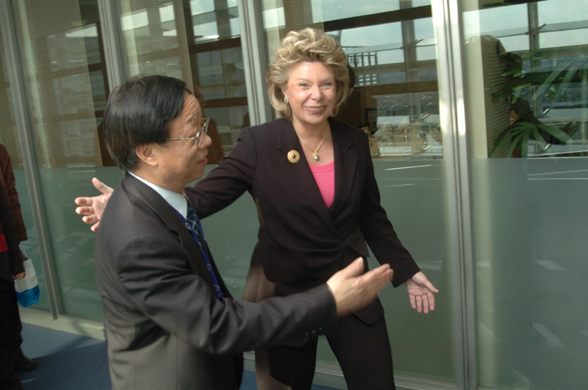 Visit of Songde Ma, Deputy Chinese Minister for Science and Technology, to the EC