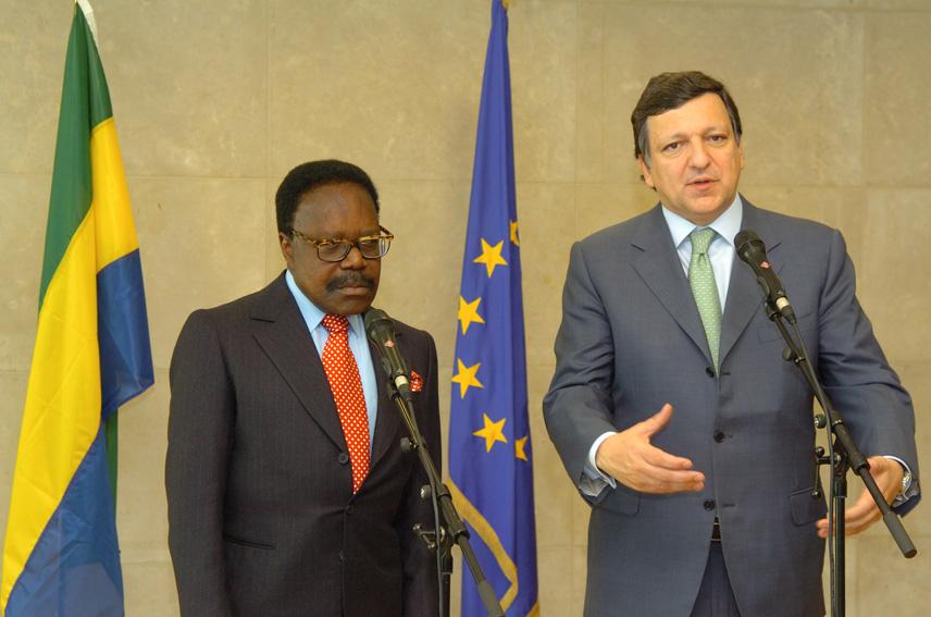 Visit of Omar Bongo Ondimba, President of Gabon, to the EC