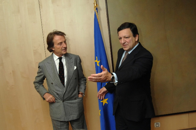 Visit by Luca Cordero di Montezemolo, Chairman of the Confindustria, to the EC