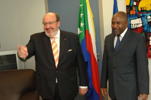 Visit by Azali Assoumani, President of the Comoros, to the EC