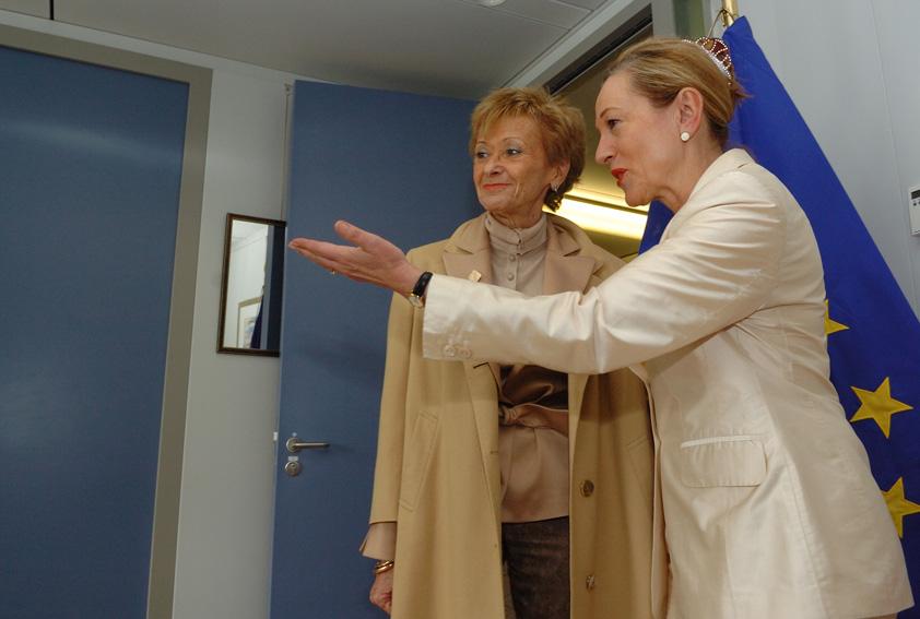 Visit by María Teresa Fernández de la Vega, Spanish Deputy Prime Minister, to the EC