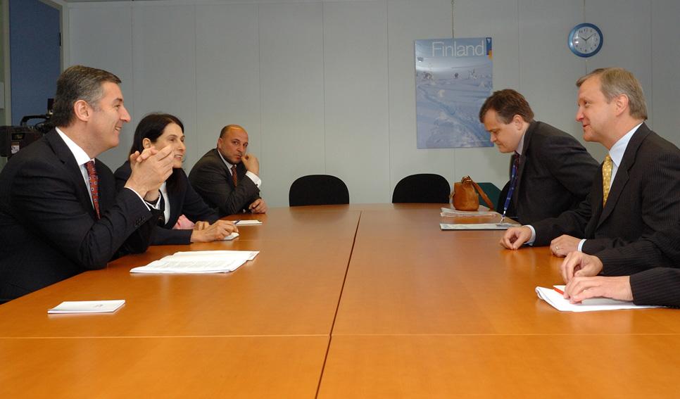 Visit by Milo Ðukanović, Montenegrin Prime Minister, to the EC