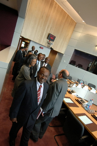 Visit by a delegation from the African Union to the EC
