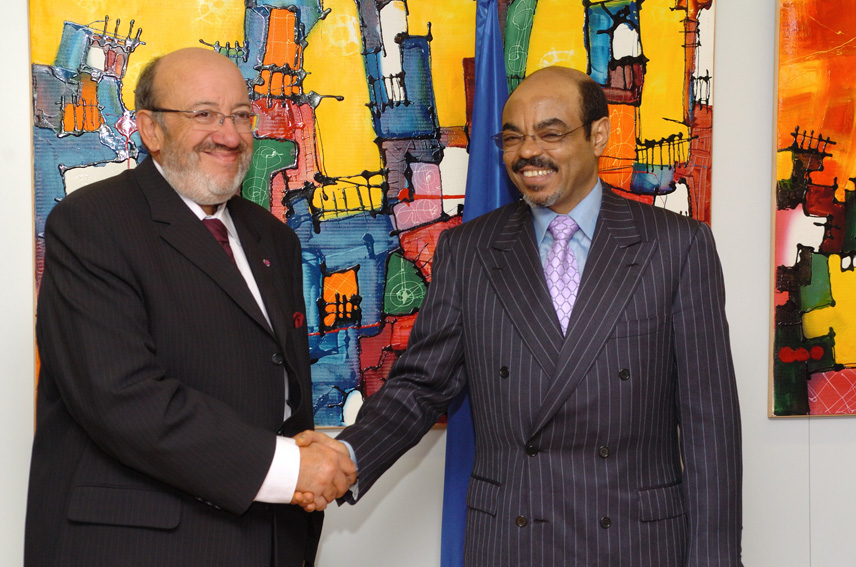 Visit by Meles Zenawi, Ethiopian Prime Minister, to the EC