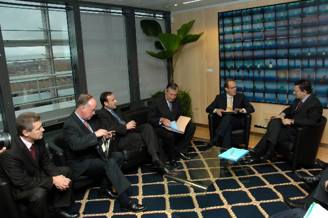 Visit by Members of the European Round Table of Industrialists (ERT)