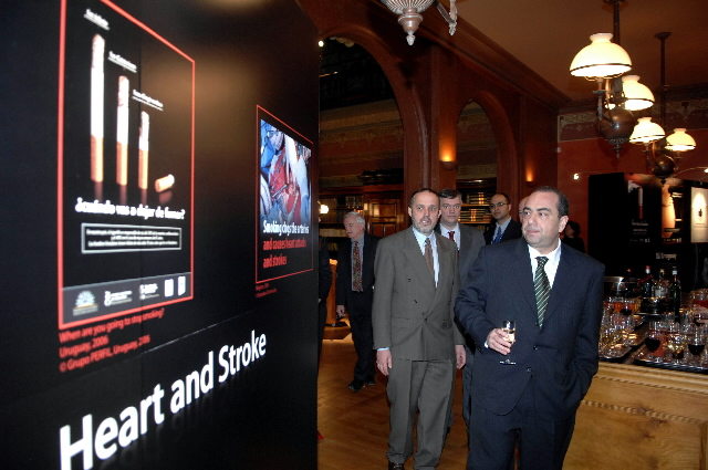 Markos Kyprianou,  Member of the EC, at the exhibition