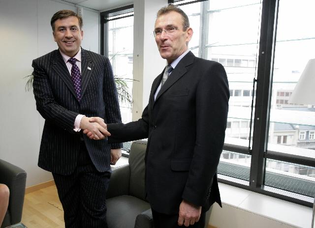 Visit by Mikhail Saakashvili, President of Georgia, to the EC