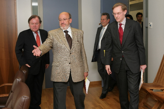 Visit by Robert Zoellick, candidate to the Presidency of the World Bank, to the EC