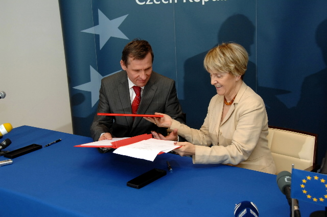 Signature of the National Strategic Reference Framework of the Czech Republic