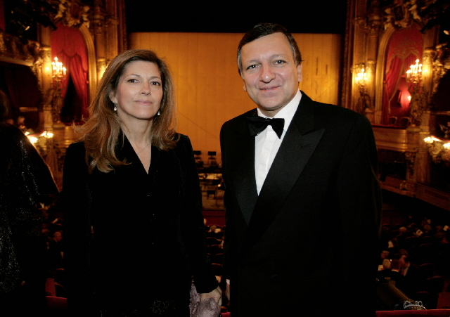 Participation of José Manuel Barroso, President of the EC, in the Women of Europe gala