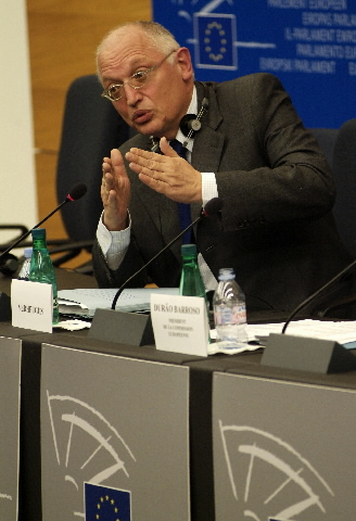 Press conference with José Manuel Barroso and Günter Verheugen on the Lisbon Strategy