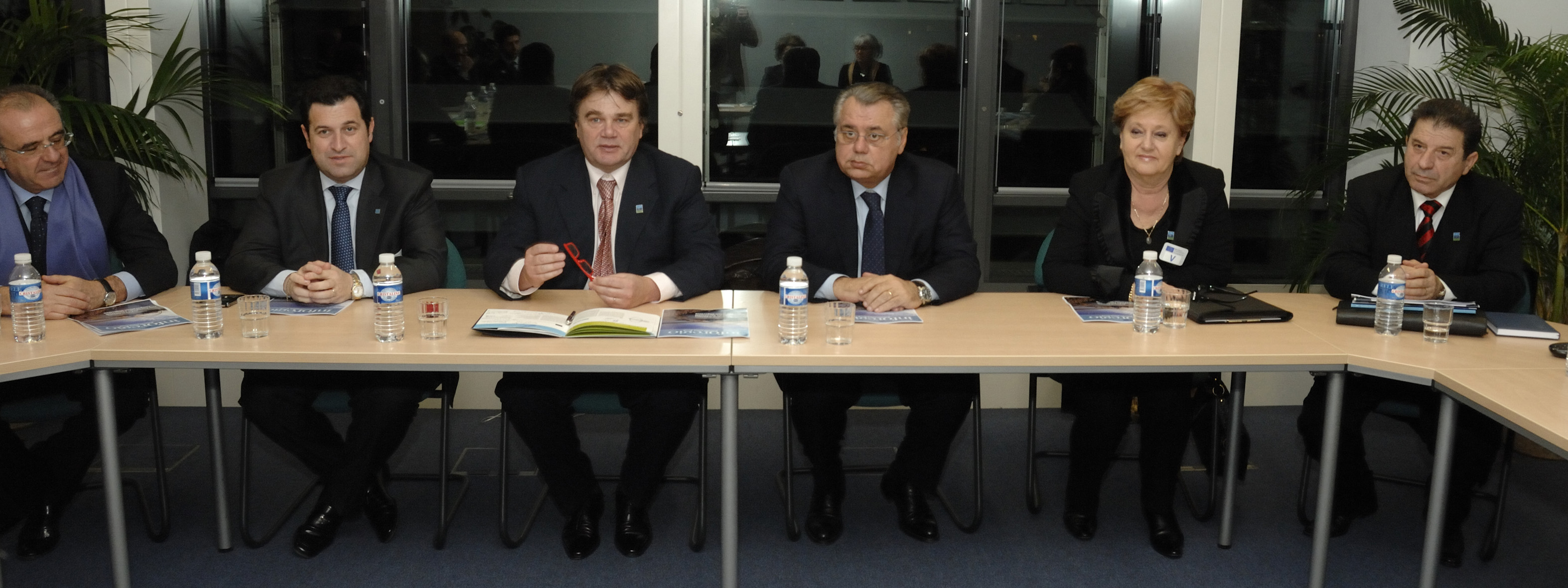 Visit by Ivan Jakovčić, President of the Region of Istria and of Adriatic Euroregion, to the EC