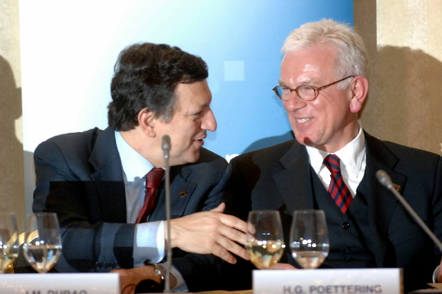 Participation of José Manuel Barroso in the EPP Summit