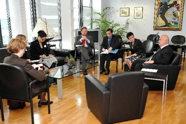 Visit of a delegation of  Shark Alliance to the EC