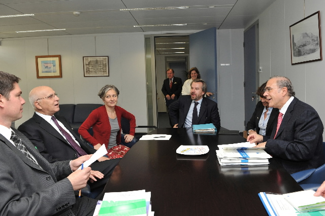 Visit of Angel Gurría, Secretary General of the OECD, to the EC