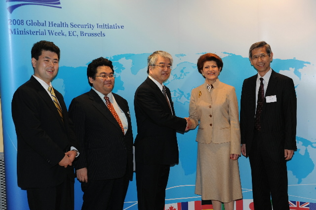 Participation of Androulla Vassiliou, Member of the EC, in the 9th Ministerial Meeting of the Global Health Security Initiative