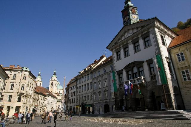 The capitals of the EU: Ljubljana