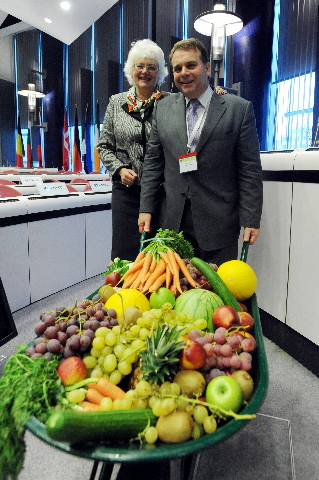 Participation of Mariann Fischer Boel, Member of the EC, in the school fruit campaign