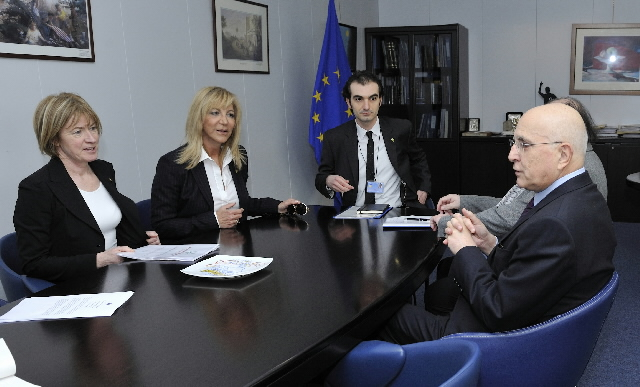 Visit of Gianna Despotopoulou, President of the Organizing Committee of the Special Olympics Athens 2011, to the EC