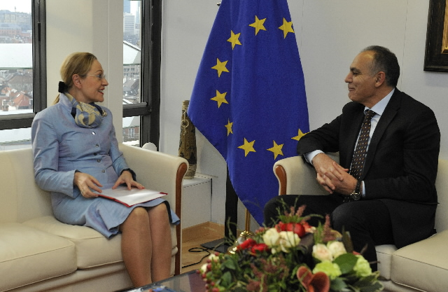 Visit of Salaheddine Mezouar, Moroccan Minister for Economy and Finance, to the EC
