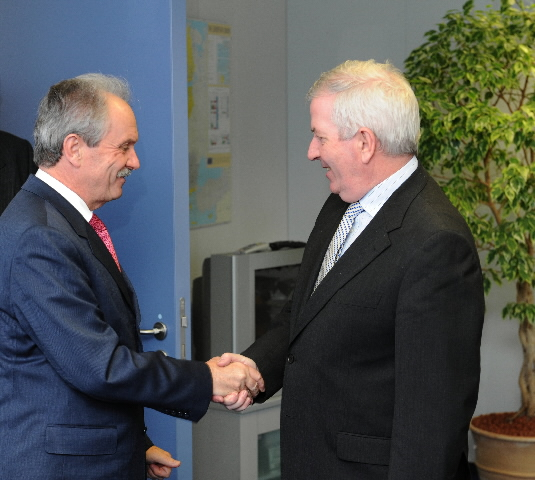 Visit of Jean-Pierre Roth, Chairman of the Governing Board of the Swiss National Bank, to the EC