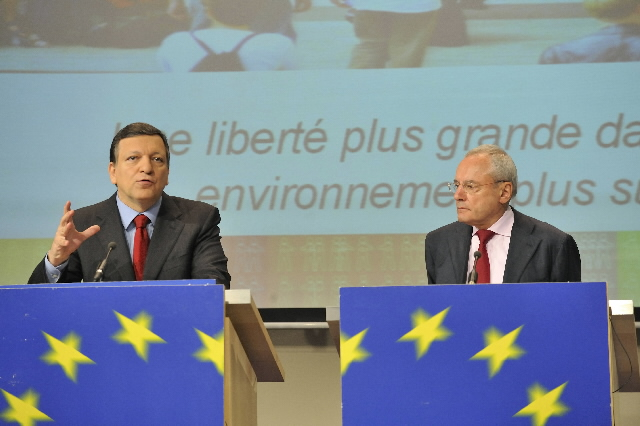 Joint press conference of José Manuel Barroso and Jacques Barrot on the future Stockholm Programme