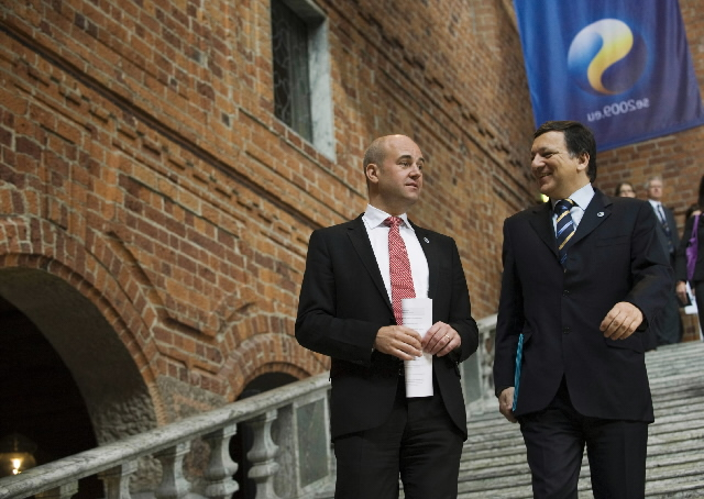 Inaugural meeting between the Swedish Presidency of the Council of the EU and the EC