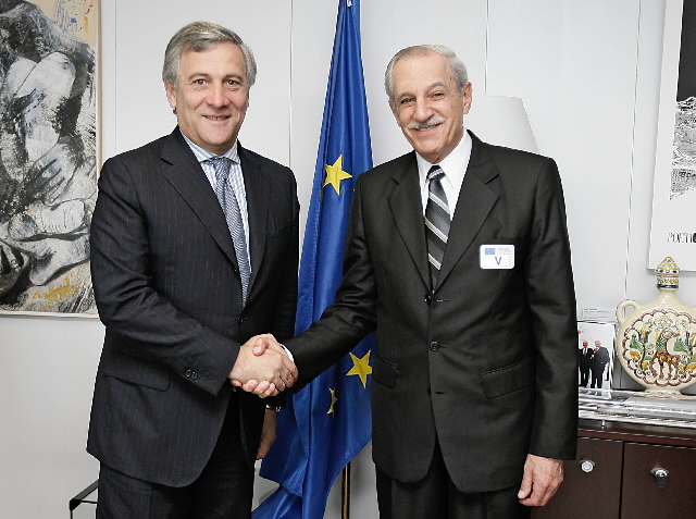 Visit of Roberto Kobeh González, President of the ICAO, to the EC