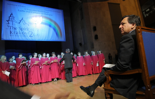 Participation of José Manuel Barroso, President of the EC, at the meeting of the Community of Sant'Egidio