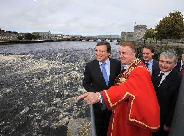 Visit of José Manuel Barroso, President of the EC, to Ireland