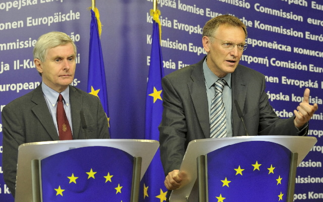 Joint press conference by Janez Potocnik, Member of the EC, and John Wood, Member of the ERAB