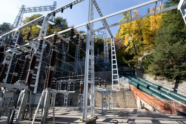 Le barrage de Saint-Dalmas, un exemple d'énergie hydraulique