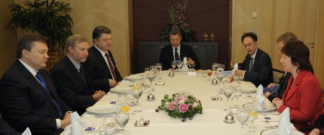 Visit of Viktor Yanukovych, President of Ukraine, to the EC