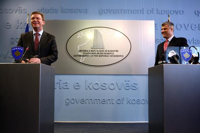 Visit of Štefan Füle, Member of the EC, to Kosovo and Albania