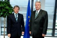 Visit of Jānis Dūklavs, Latvian Minister for Agriculture, to Dacian Cioloş