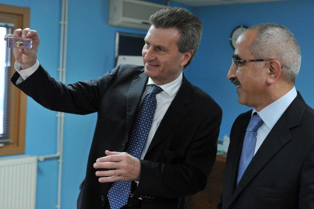 Visit of Günther Oettinger, Member of the EC, to Azerbaijan