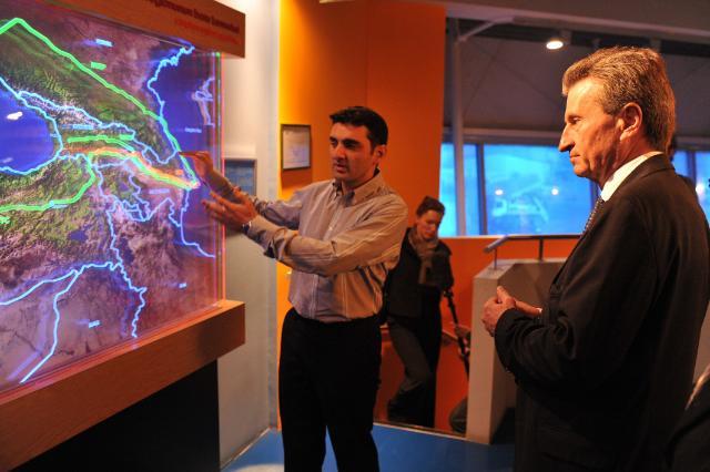 Visit of Günther Oettinger, Member of the EC, to Azerbaijan